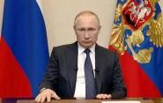 Обращение Владимира Владимировича Путина к российскому Народу